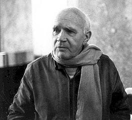 portrait photographique de Jean Genet en 1983