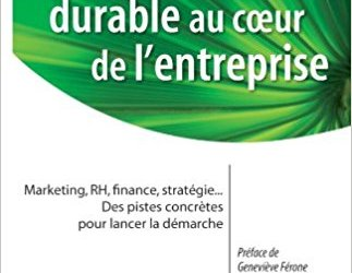 Je suis à la recherche d'articles scientifiques ou d'études sur l'évolution du développement durable dans le marketing