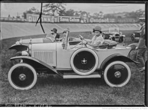Rahna sur Citroën [championnat automobile des artistes] 1924 / [Agence Rol]