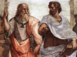 Platon et Aristote par Raphaël