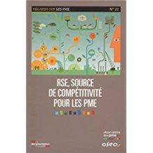 Je cherche des études réalisées sur l'engagement RSE (responsabilité sociale des entreprises) des petites entreprises (PME, start-up)