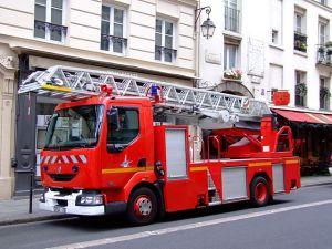 Camion des Sapeurs pompier de Paris