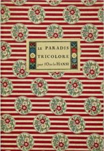 couverture du Paradis tricolore de Hansi