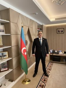 Fuad Isgandarov Ambassador, Head of Delegation of the Republic of Azerbaijan to the EU