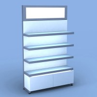 Aveda Retail Wall Display w/ Metal Light Box | Salon ...