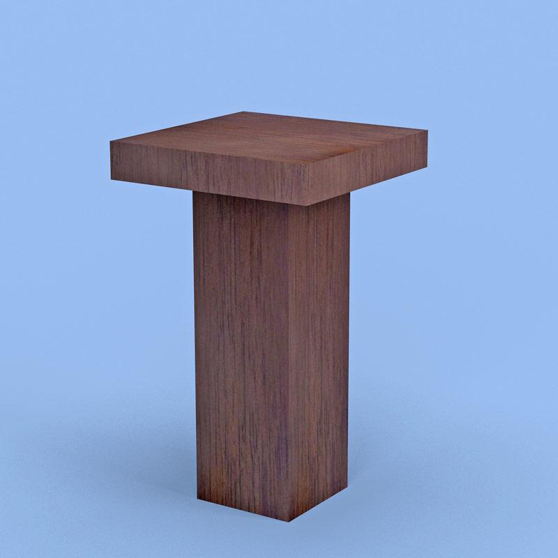 Kensington Square Table Wood