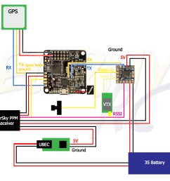 naze32 gps minimosd diagram [ 1218 x 1169 Pixel ]