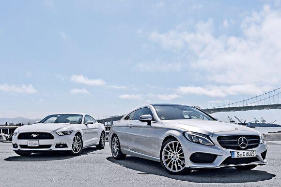 Mercedes-C-Klasse-Coup-2016-vs-Ford-Mustang-1200x800-c770e8bd5296b538