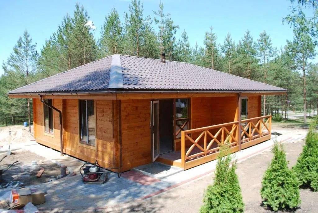 chalets maison bois massif