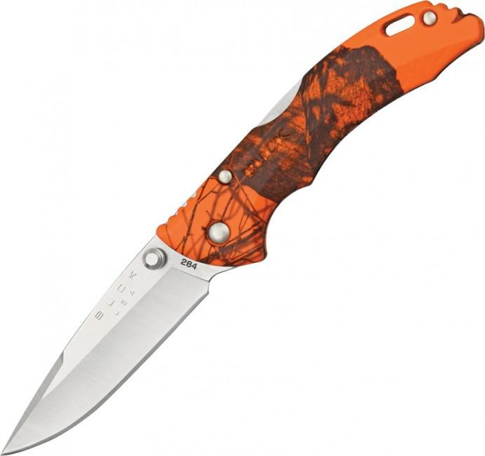Black Camo Buck Knife Usa Blade
