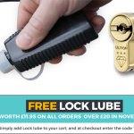 Free Ultion Lock Lubricant worth £11.95 !