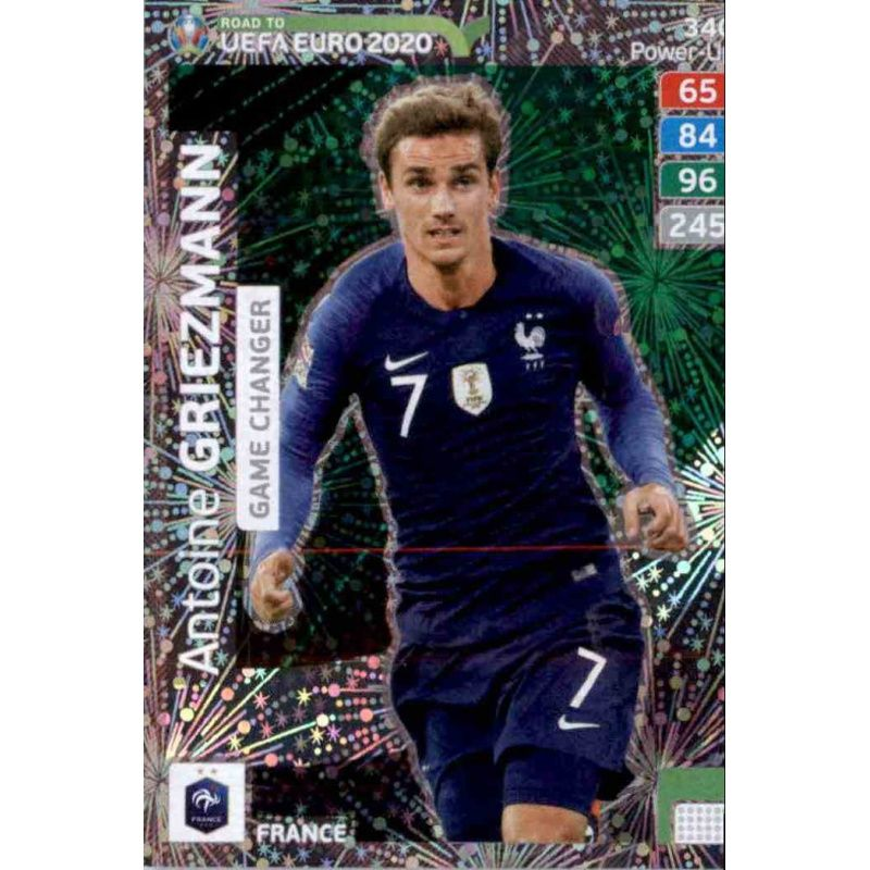 Kylian mbappe and antoine griezmann of france look on. Online Sale Antoine Griezmann Game Changer Adrenalyn Xl ...