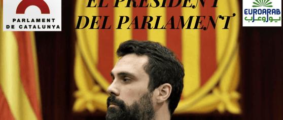Audiencia con el Presidente del Parlament de Catalunya