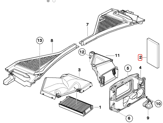 2014 Bmw X3 Fuse Box Diagram
