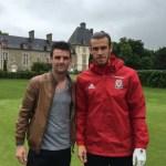 Wales football team visit Les Ormes, Dol de Bretagne – Euros 2016