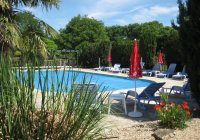 Courte Vallee heated pool