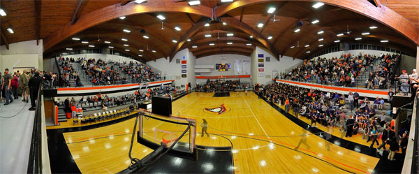 Image result for anderson ravens basketball lewis gymnasium