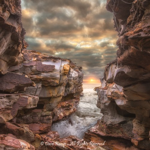 Durras Rocks by Dave Kemp