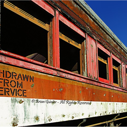 Withdrawn from Service by Brian Gunter