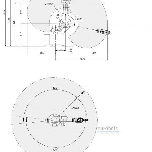 KUKA KR15 arc welding robot with Fronius TPS4000 MIG MAG