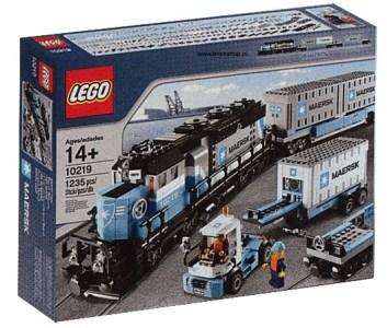 Maersk Train Box