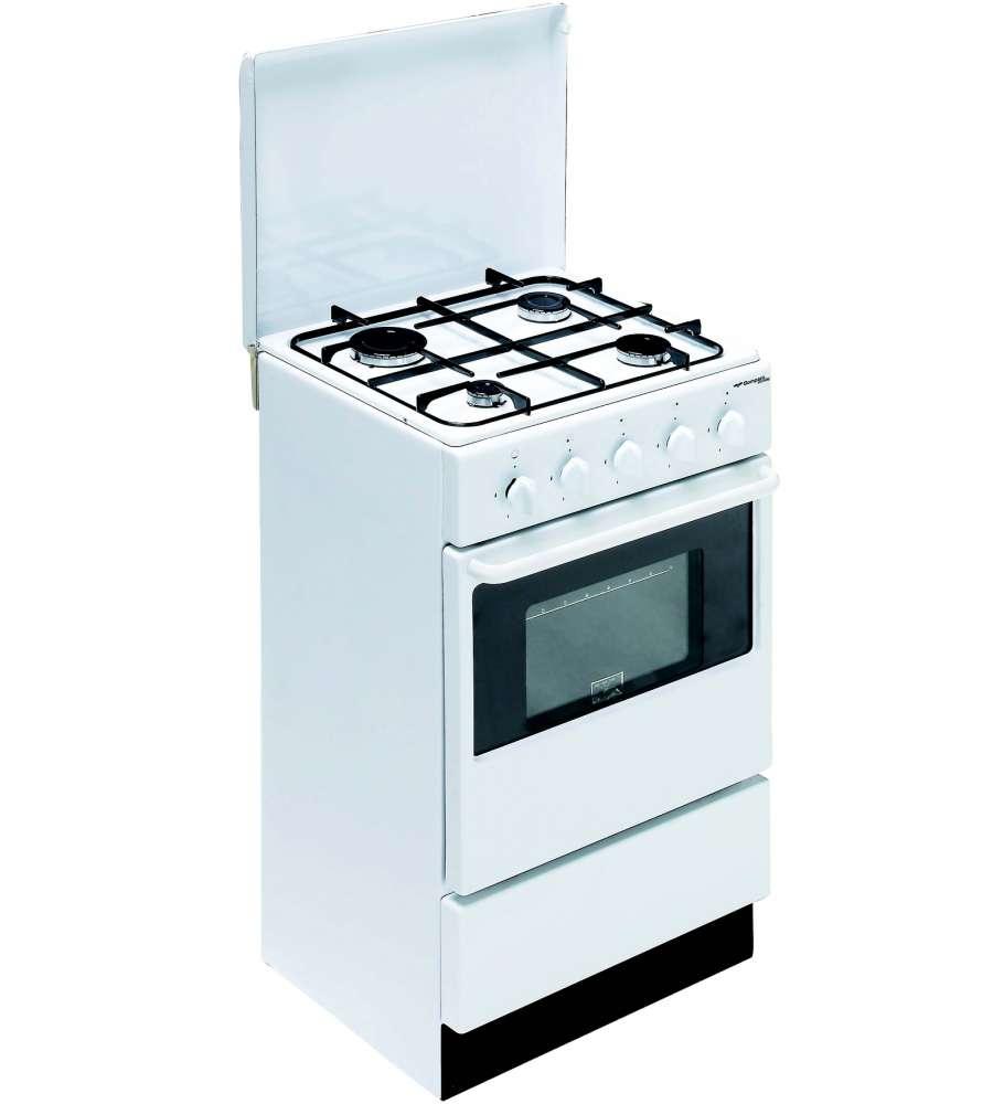 Cucina 4 Fuochi Con Forno A Gas Professionale Usata