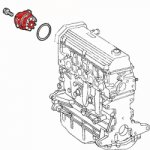 Cooling system parts for Citroën Peugeot Renault Fiat and