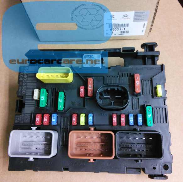 peugeot 307 fuse box removal