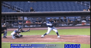 Rockies Wesley Jones Thirty first round 919 Pick