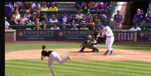 Nolan Arenado RBI Double vs Pirates