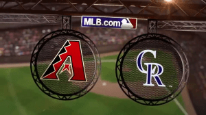 D-Backs-Rockies 3 Game