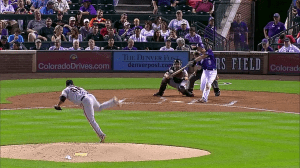 DJ LeMahieu Two-Run HR vs Giants