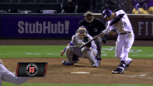 Nolan Arenado Walk Off Sac Fly