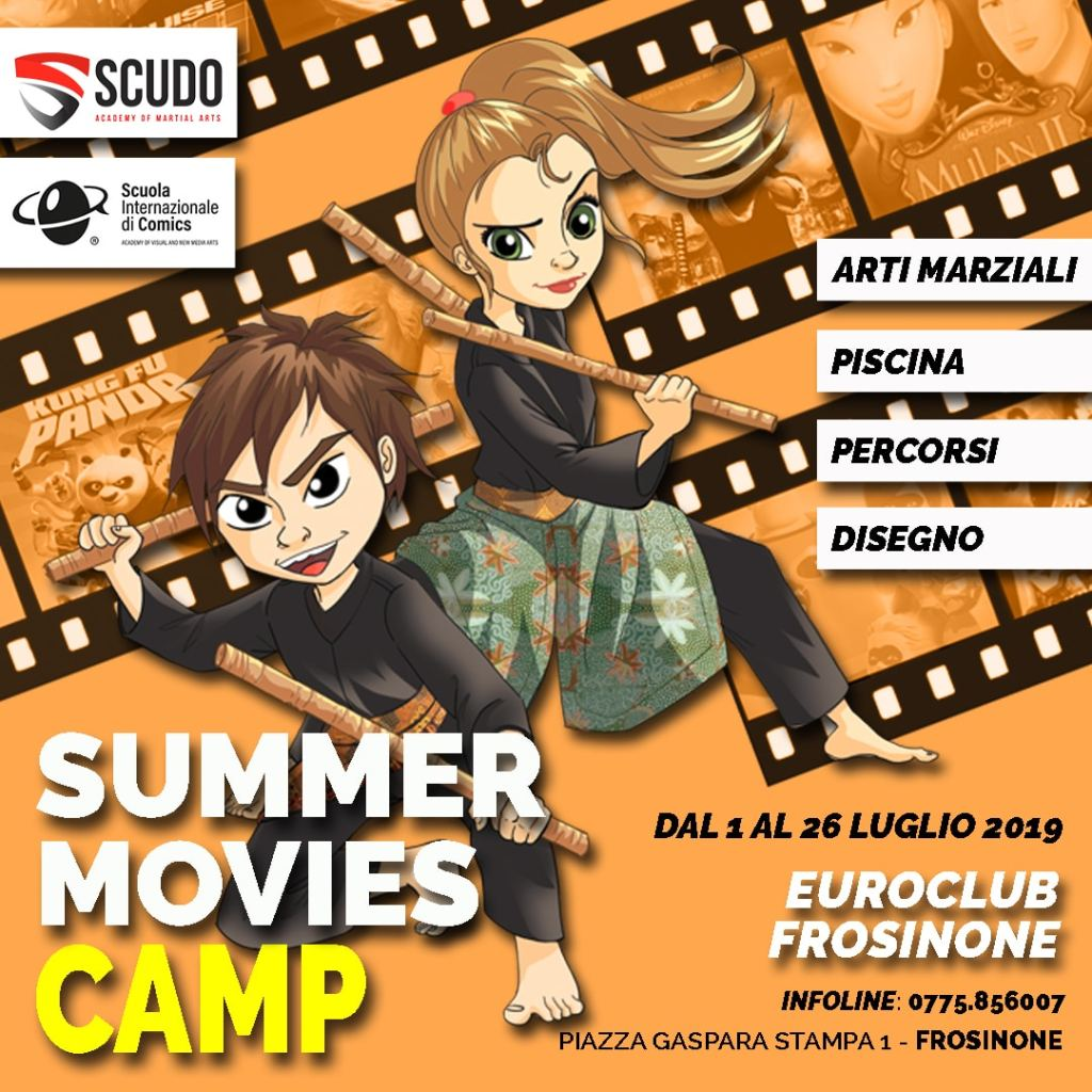 Summer Movies Camp 2019 @ Euro Club Active Sport