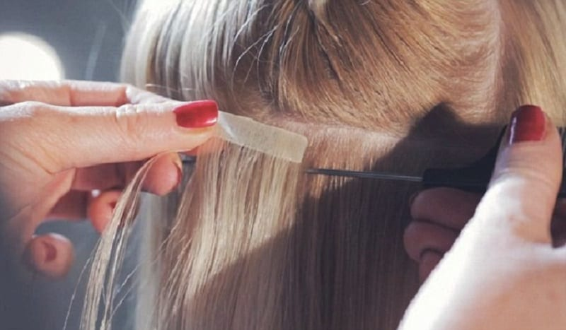 How To Tape In Hair Extensions For The DIY Hairstyles