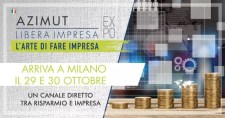 SAVE THE DATE: 29 ottobre 2019 AZIMUT LIBERA IMPRESA EXPO - MILANO