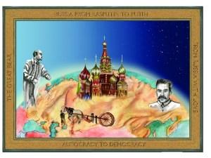 Illustration of Russia by Ariel Gullini