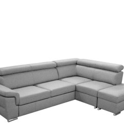 Corner Sofas Sofa Beds Grey With Metal Legs Konor Bed Option No Chaise Left Material Fabric