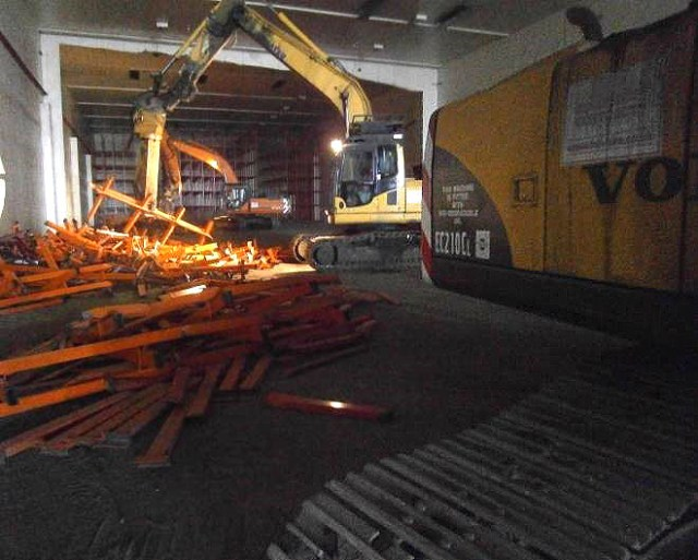 Asset recovery at cold storage facility