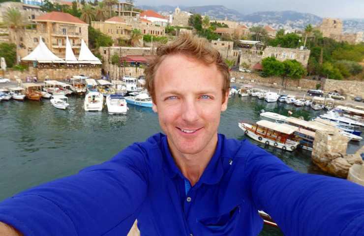 O David viajou mais de 50 países em 8 anos