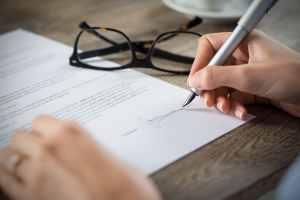 Declaração de responsabilidade financeira