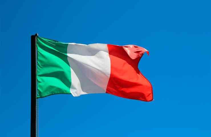 bandeira da italia