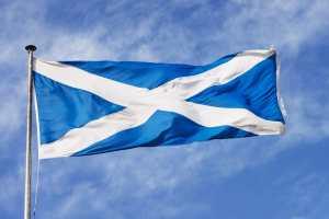 bandeira da escocia