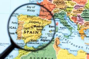 localizacao da espanha