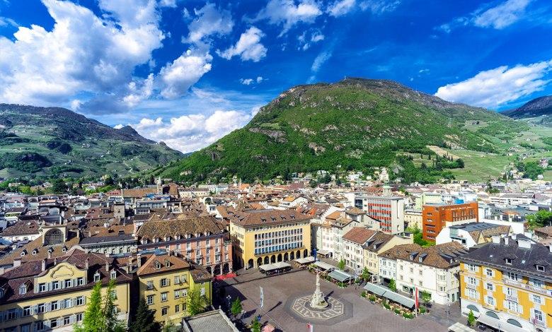 morar em Bolzano na Ítalia