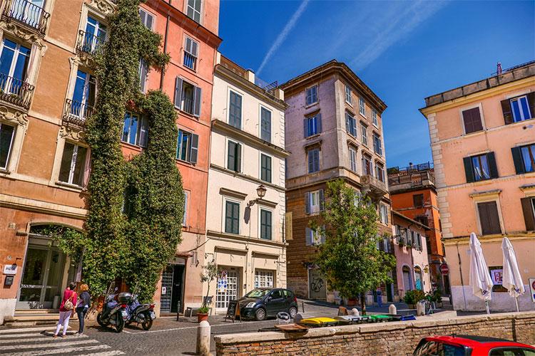 regiões para alugar quarto em Roma