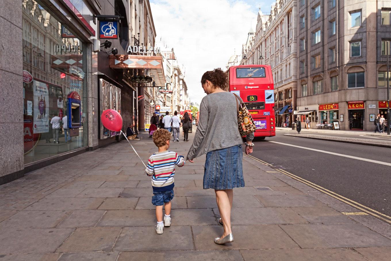 Morar na Inglaterra com filhos
