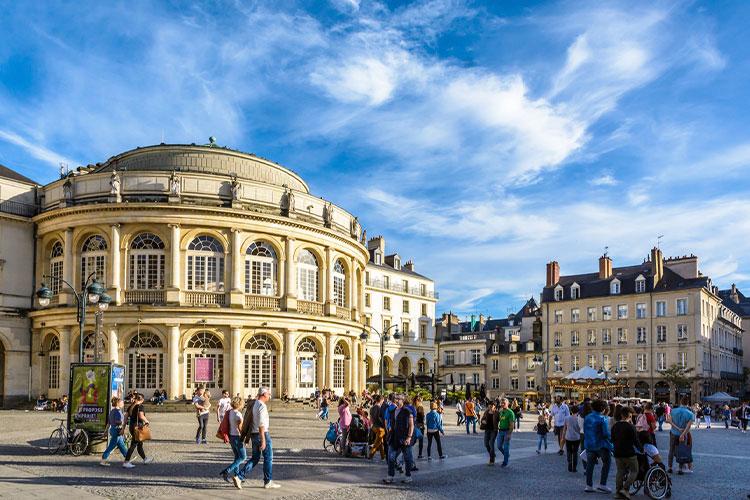 morar em Rennes França