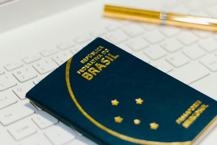 passaporte brasileiro para visto italiano