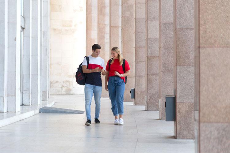 Estudantes Campus Portugal